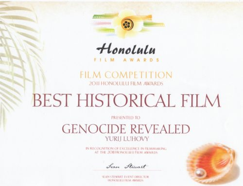 "Film ""Genocide Revealed"" wins multiple awards"