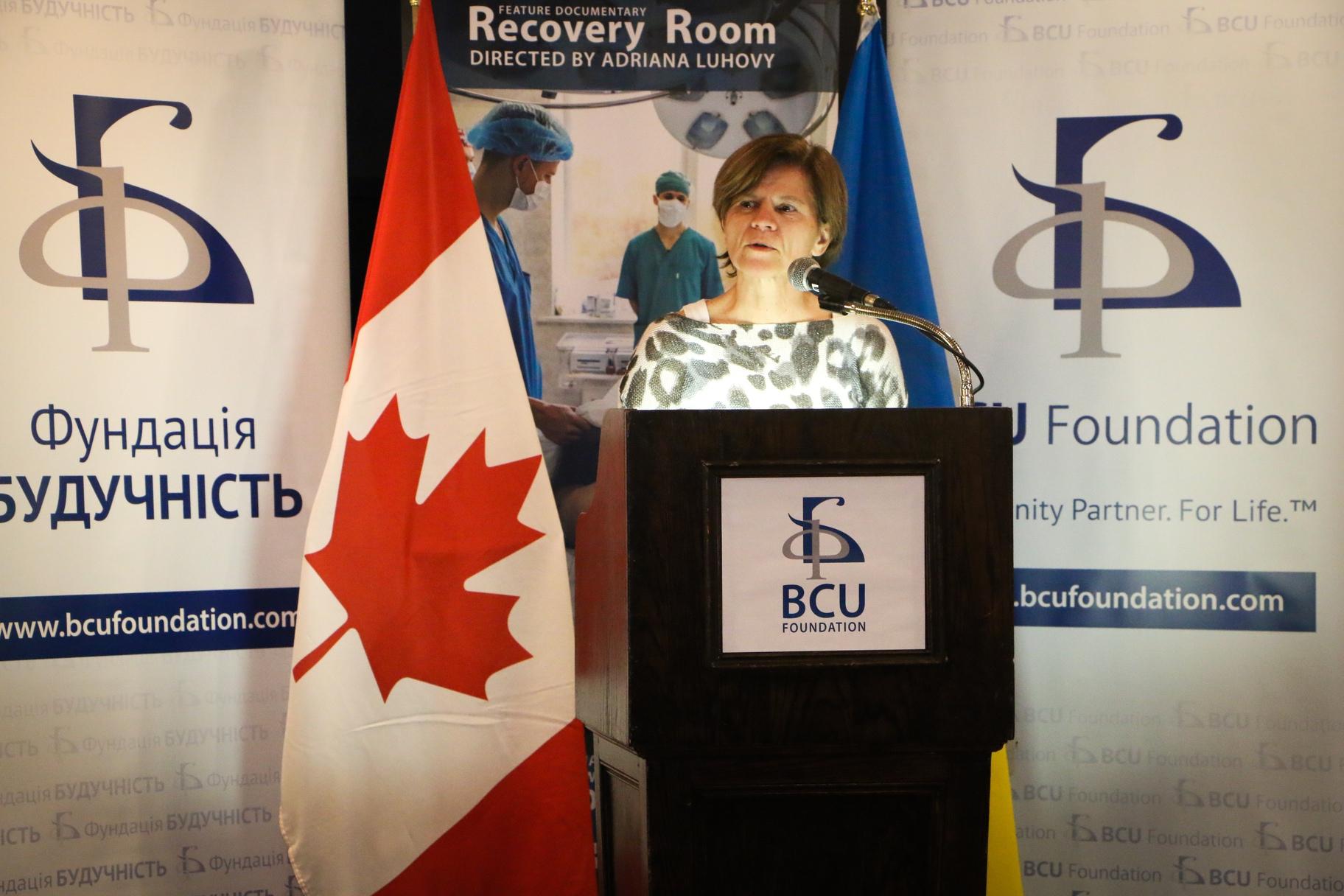 Sylvie Monette Screening Recovery Room (BCU Toronto)